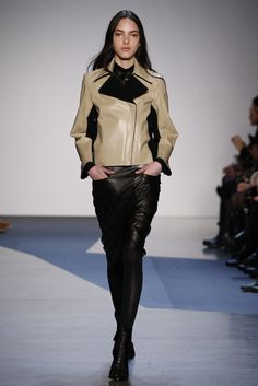 Fall 2013 Trend: Motorcycle Diaries (Helmut Lang RTW Fall 2013)