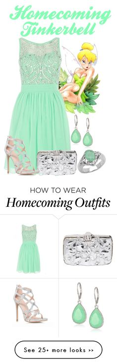 """Homecoming Tinkerbell"" by alyssa-eatinger on Polyvore"