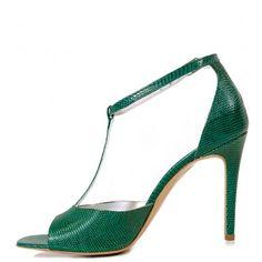 sandale dama din piele naturala 1315 print verde Stuart Weitzman, Shoes, Fashion, Green, Moda, Zapatos, Shoes Outlet, Fashion Styles, Shoe