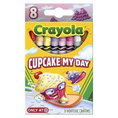 cupcake crayola :)