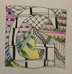 Zentangled Letters