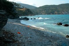 Limnonari beach, Skopelos, Greece