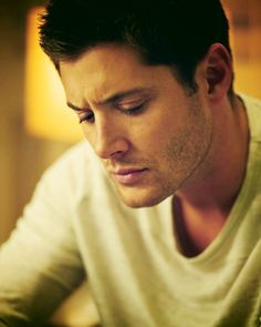 Jensen Ackles. There wasn't enough of him on your screen. I fixed that. You're welcome.