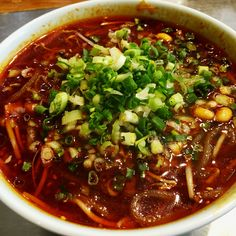 Hot and sour rice noodles, Chengdu, Sichuan (酸辣粉)