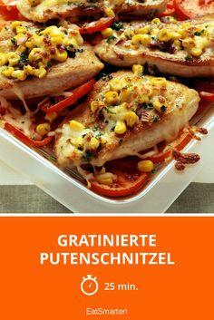 Gratinierte Putenschnitzel - smarter - Zeit: 25 Min.   eatsmarter.de