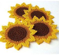 Watch The Video Splendid Crochet a Puff Flower Ideas. Wonderful Crochet a Puff Flower Ideas. Crochet Home, Love Crochet, Crochet Motif, Crochet Crafts, Crochet Doilies, Easy Crochet, Crochet Stitches, Crochet Projects, Crochet Baby