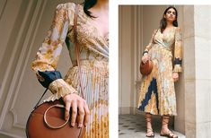 See three great ways to inject your everyday wardrobe with the trending print. Kaftan, Calf Length Skirts, Model Foto, Wilhelmina Models, Printed Trousers, Fashion Company, Belted Dress, Summer Looks, Neue Trends