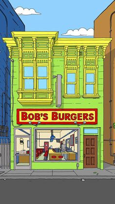 Bobs burgers iphone background