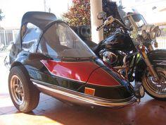 California Sidecar Friendship II before being painted