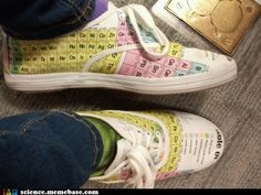 tennis shoes for nerds...