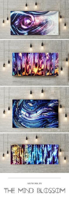 abstract art, space paintings, abstract space, surreal space, colorful abstract art, abstract decor, surreal decor, abstract canvas, abstract wall art, hippie canvas, trippy artwork, trippy canvas