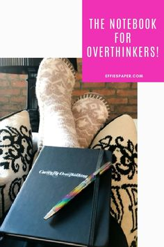 Who isn't Currently Overthinking these days? You are probably currently overthinking the decision to ADD THIS TO CART. Seriously? You know this is you! But, hey … don't feel bad, we all find ourselves here from time to time, right? With this notebook by your side, you'll be reminded not to take yourself too seriously. Friend, you NEED this notebook on your desk stat! ADD TO CART NOW at effiespaper.com!