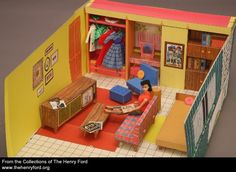 Collection 1962 Barbieu0027s Dream House The Henry Ford Collection