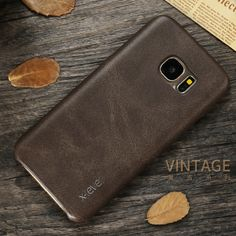 X-Level New PU Leather Phone Case For Samsung Galaxy S7 S7 edge Ultra thin Protective Back Cover For Samsung S7 S7 edge
