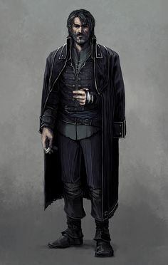 Dishonored: Pirate AU Corvo by coupleofkooks