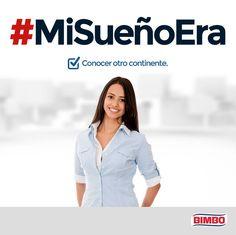 Cuéntanos tus sueños cumplidos utilizando el hashtag #MiSueñoEra y sé parte de los Nuevos Mexicanos que están cambiando México.  http://bimbo.com.mx/nuevos-mexicanos/