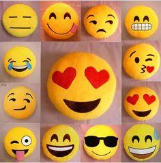 20 Style Emoji Pillows Round Cushion | BuyerpartyInc.