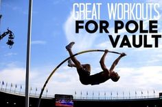 This post contains affiliate links. As a beginner pole vaulter, I know that without a consistent and planned workout, you can expect to get nowhere,… Track And Field Events, Track Field, Fun Workouts, At Home Workouts, Track Quotes, Nike Quotes, Pole Vault, Cross Country Running, Running Training