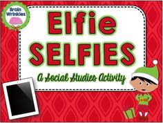 This file is an excellent way for middle school students to review key physical features before Winter Break. Students will put their social media skills to the test by creating different elfie selfies around the world. Have fun and happy holidays! Here are some other fun and festive resources to use during the holiday season:  Elf on the Globe  Map Skills Task Cards Holidays Around the World Gallery Walk 2015 Brain Wrinkles.