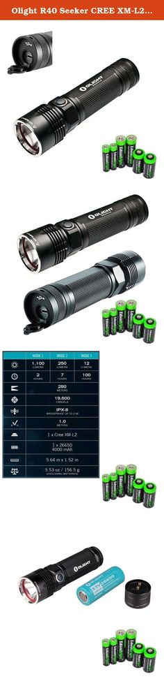 Awesome Home Security 2017: Olight R40 Seeker CREE XM-L2 1100 lumen USB Rechargeable LED Flashlight with Edi... Handheld Flashlights, Flashlights, Hand Tools, Power & Hand Tools, Tools & Home Improvement Check more at http://homesecuritymonitoring.top/blog/review/home-security-2017-olight-r40-seeker-cree-xm-l2-1100-lumen-usb-rechargeable-led-flashlight-with-edi-handheld-flashlights-flashlights-hand-tools-power-hand-tools-tools-home-improvement/