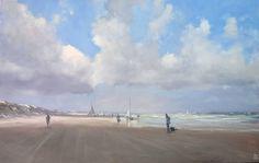 BoldBrush Painting Competition Winner - January 2017 | Goolwa beach sailing club by Mike Barr