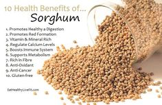 Health Benefits of Sorghum Natural Medicine, Herbal Medicine, Health And Wellbeing, Health And Nutrition, Health Diet, Coconut Health Benefits, Natural Health Remedies, Healthy Tips, Healthy Eating