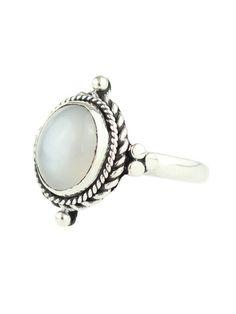 Little Luna Moonstone Ring – Shop Dixi #DixiWildHeart