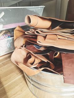 Your place to buy and sell all things handmade Leather Art, Tan Leather, Leather Tutorial, Leather Suppliers, Leather Scraps, Scrap Material, Leather Pattern, Small Leather Goods, Vegetable Tanned Leather