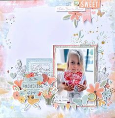 Beach Scrapbook Layouts, Kids Scrapbook, Scrapbook Albums, Scrapbooking Layouts, Love You To Pieces, Oh My Heart, Arts And Crafts, Paper Crafts, Love Is Sweet