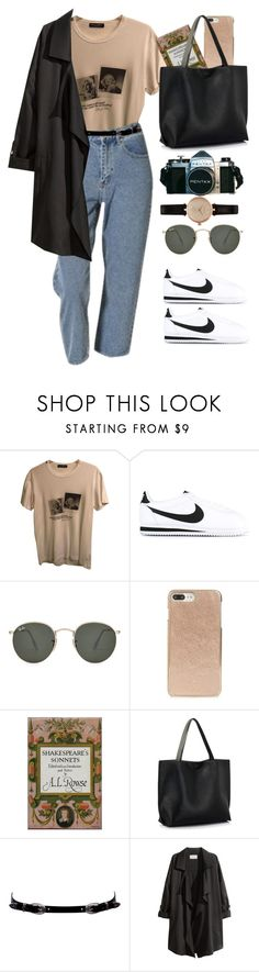 """""""Sin título #4023"""" by beel94 ❤ liked on Polyvore featuring Dolce&Gabbana, NIKE, Ray-Ban, Kate Spade, Baum und Pferdgarten, H&M and Barbour"""