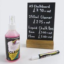 Liquid Chalk Pens | Cleaner