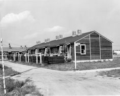 Willow Run housing development for wartime workers. From the Homer Ferguson papers, Box Ypsilanti Michigan, Eastern Michigan University, American War, Ann Arbor, Ford Motor Company, North Africa, Small Towns, Gd, World War Ii