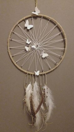 DreamCatcher collectionnature Brown and white