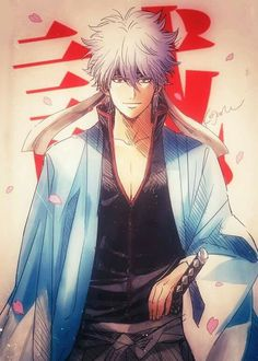 Gintoki in Shinsengumi's haori? Hell yes.