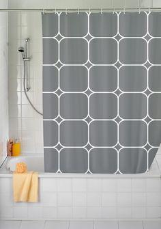 Anti Mould Cube Shower Curtain | Wayfair UK