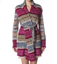 Odd Molly Egotrip Knit Coat 178, Multi