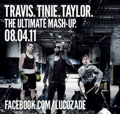 International Lucazade Advertisment with Tinie Tempah and Travis Barker