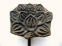 Vintage Japanese Yakiin Branding Iron Lotus by vintage from japan