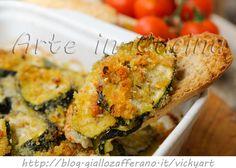 Zucchine gratinate al forno saporite vickyart arte in cucina