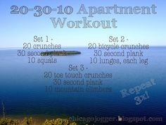 I have a rough time doing push-ups and planks. I have weak arms, and I'm a wuss about it. I go to a 'sculpt' class once a week that uses only your body weight for an hour workout and often through tabata training, and it […] Fitness Diet, Fitness Motivation, Trainer Fitness, Fitness Gear, Health Fitness, Apartment Workout, Gym Workouts, At Home Workouts, Quiet Workout