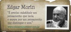 e-learning, conocimiento en red: Edgard Morin: [3 videos 3] A ...