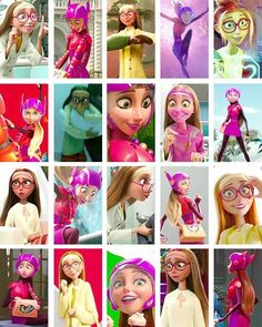 Honey lemon from Big Hero 6 Best Disney Movies, Kid Movies, Disney Stuff, Cute Disney, Disney Girls, Disney Princess, Disney And Dreamworks, Disney Pixar, Disney Characters