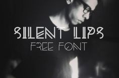 This is the FREE Silent Lips Font by Vincent Labonne. It's a very modern and stylish font that is attention grabbing. Highly experimental in its nature this font would look great for creative looking headlines and designs
