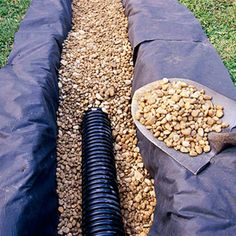 Make a French Drain