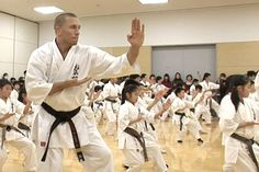 """""""Karate was the first martial art I was every taught,"""" he said. """"It is an honor to be here where it started. For me, karate will always be a very important part of me. It is not just a fighting style, it is a way of life."""""""