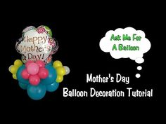 Baby Shower Balloon Decoration Tutorial - It's A Girl - YouTube