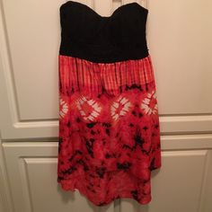 Strapless Dress Never worn before. Great condition. Sequin Hearts Dresses Strapless