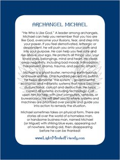 Archangel Michael pocket card.   Printed on 310gsm laminated, linen card stock. You get an Archangel cards included with our Archangel crystal bracelets, or they're available as a set of seventeen cards!
