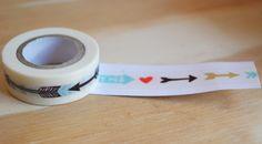 Arrow Washi Paper Tape