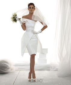 Looks really pretty, but wouldn't wear it for my wedding.